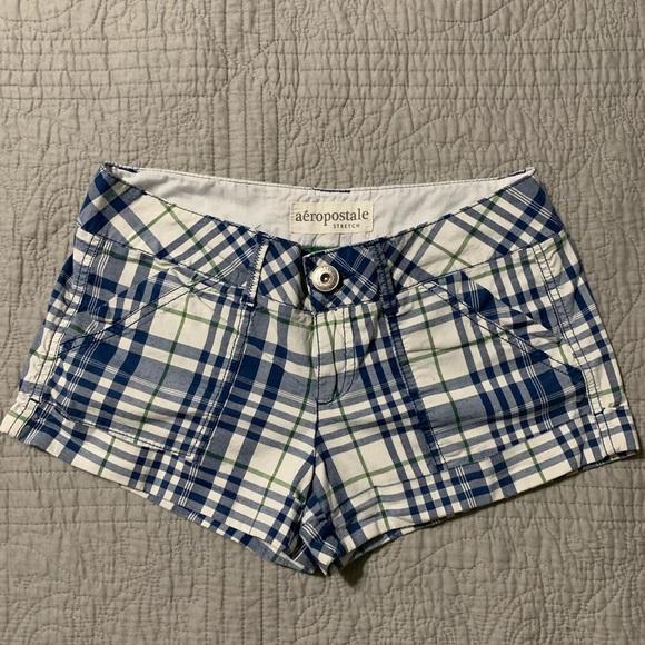 Aeropostale Pants - Women's Plaid Shorts